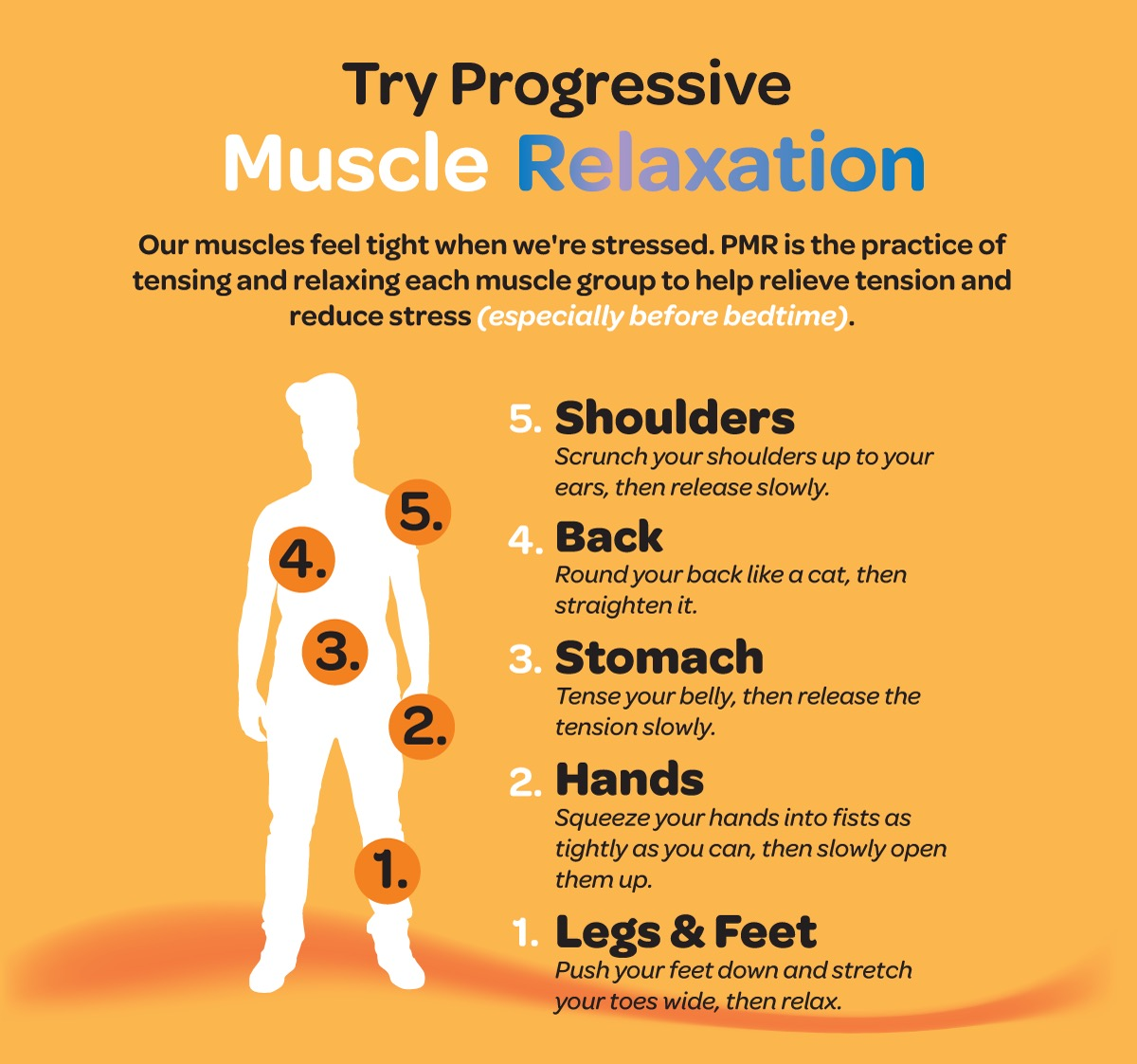 Ways to help children with progressive muscle relaxation.